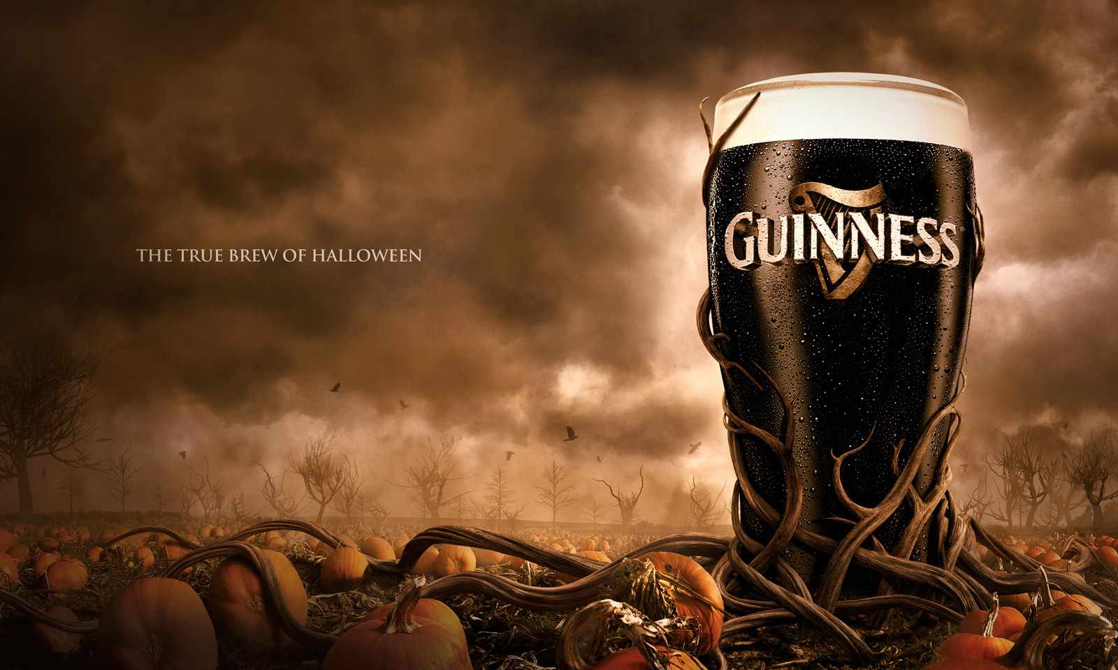 Halloween Advertising - Guinness - Copy and Design