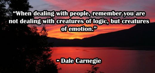 Dale Carnegie Copywriting Quote