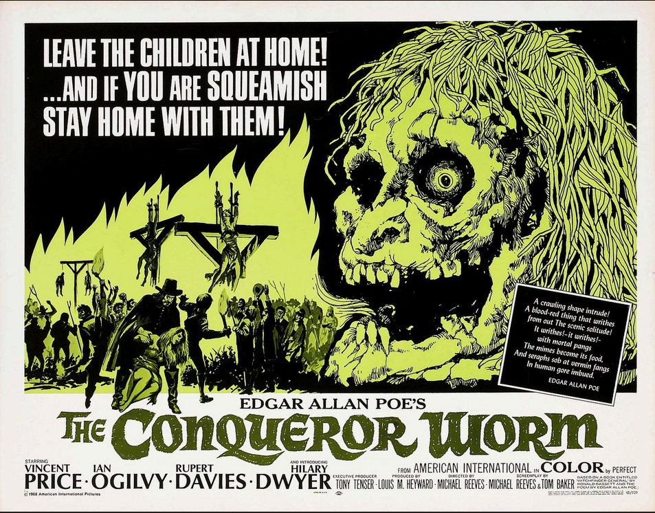 The Conqueror Worm Poster