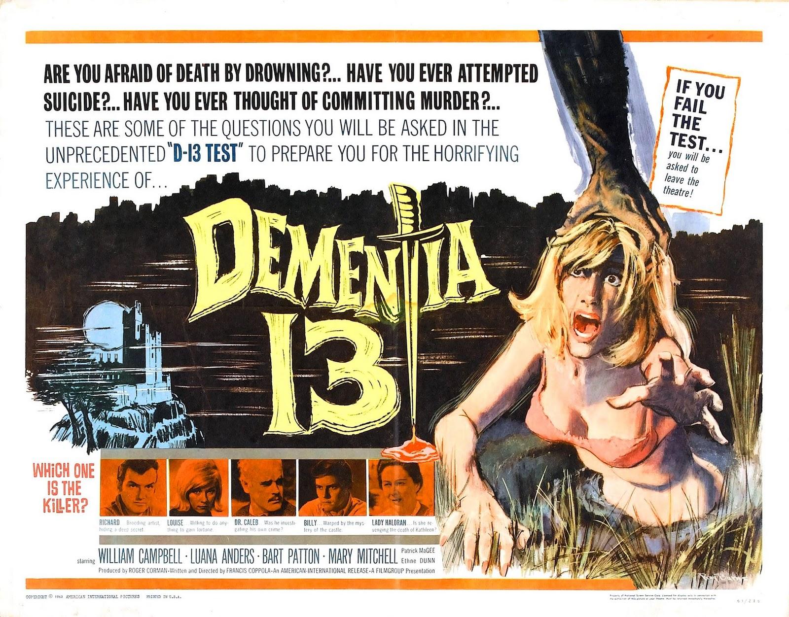 Dementia 13 Film Poster