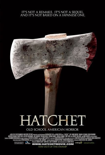 Hatchet Film Poster