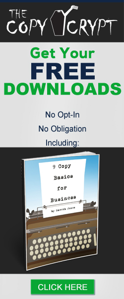 Free Copywriting and Business Downloads from The Copy Crypt