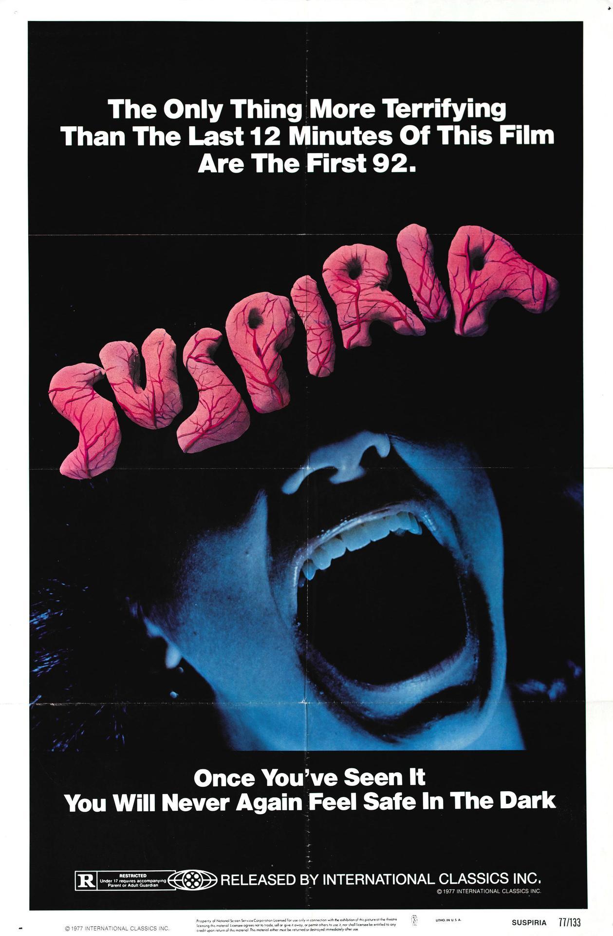 Suspiria Film Poster