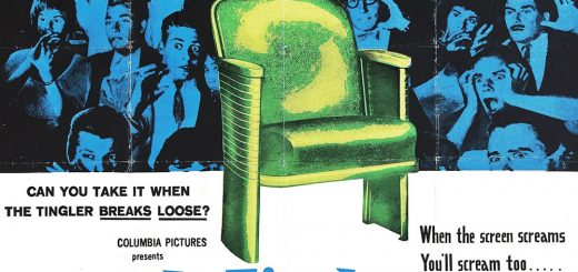 The Tingler Vibrating Chair Poster