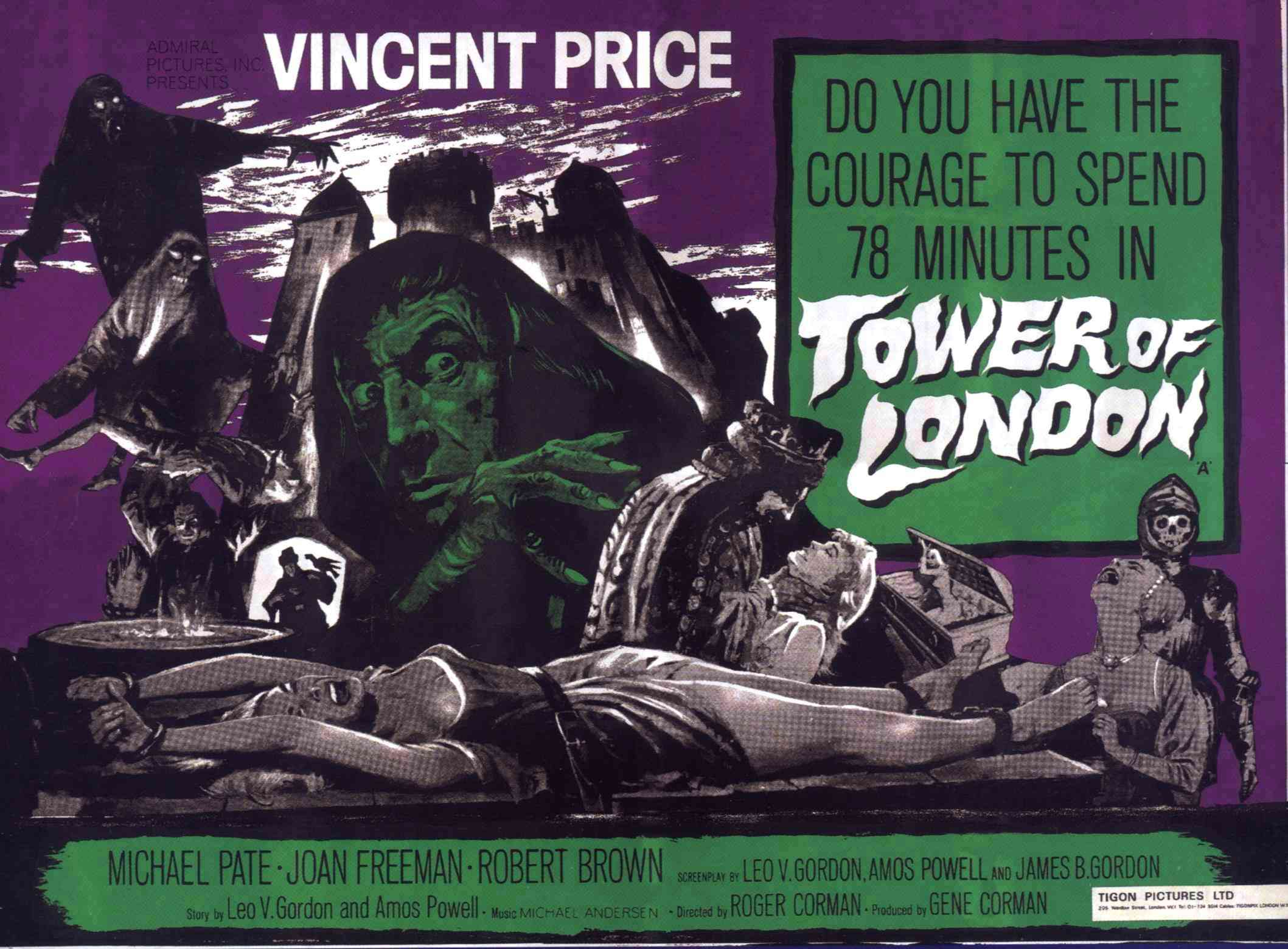 Tower of London Alternate Poster