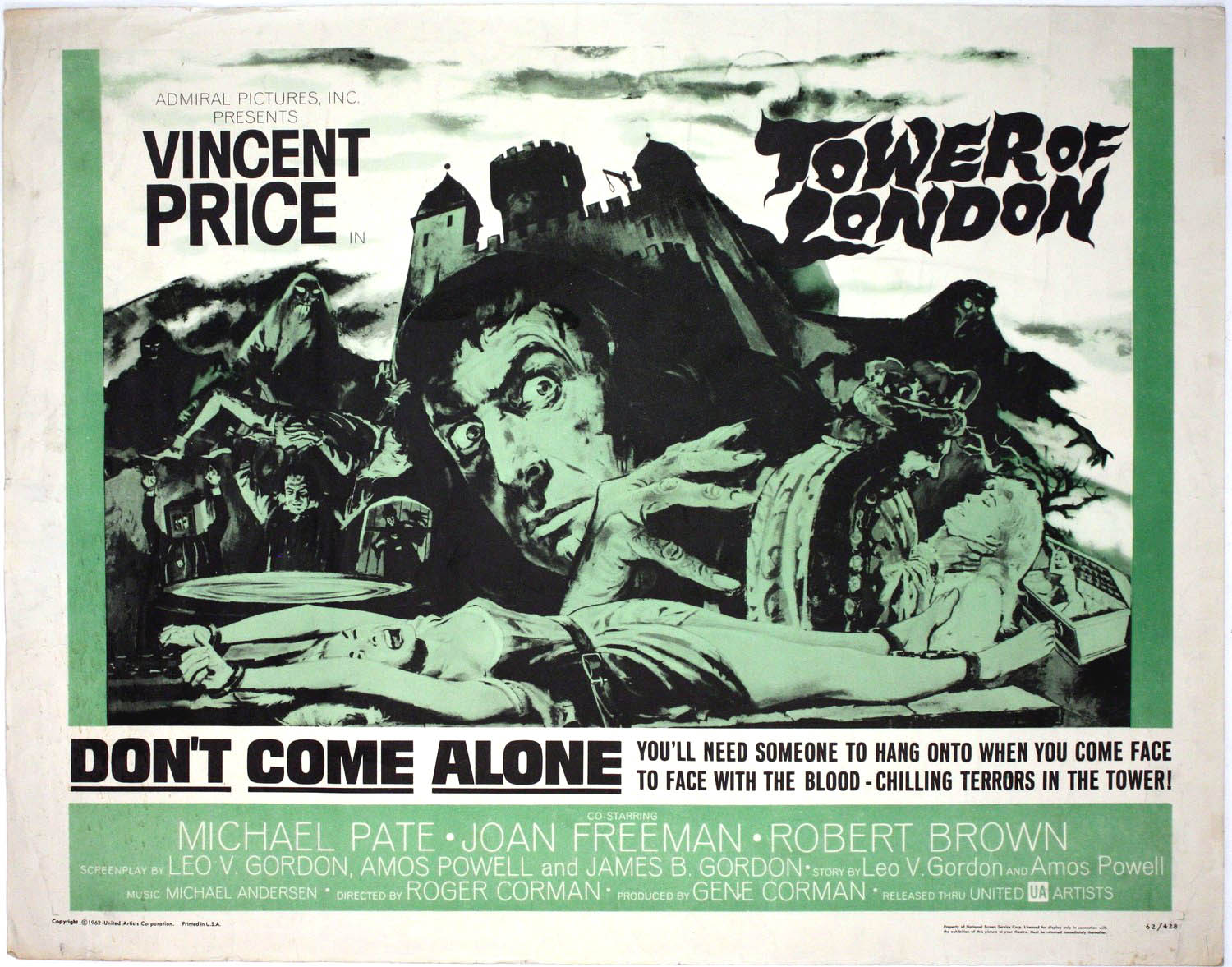 Tower of London Film Poster