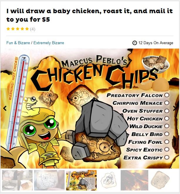 Fiverr Chicken Chips